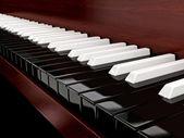 Inverted piano — Stock Photo