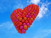 сердце шары — Стоковое фото