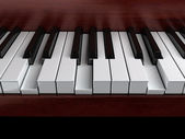 Piano accord — Stockfoto