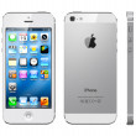 Apple iphone 5 branco — Foto Stock