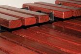 Marimba nycklar — Stockfoto