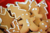 Gingerbread Man and Christmas Assortment — Stock Photo