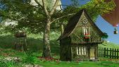 Fantasy house — Stock Photo
