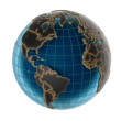 Globe - isolated — Stock Photo