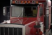 большой грузовик — Стоковое фото