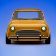 Stock Photo: Mini car