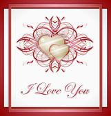 Love hearts. — Stock Vector