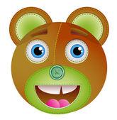Bear toy. — Stock Vector