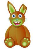 Bunny toy. — Stock Vector
