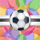 Abstract football background. — Stock Vector