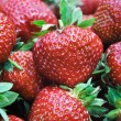 Stock Photo: Strawberries close up
