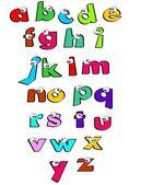 Alphabet for kids — Stock Vector