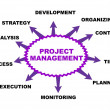 Stock Vector: Project management