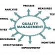 Stock Vector: Quality management