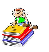 My books - illustration — Stock Vector