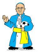 Pope Francis I — Stock Vector