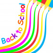 Stock Vector: Back to School Poster
