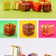 Stock Photo: Christmas Gift Set