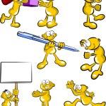 Cartoons Set  — Stock Vector #36668201