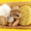 Basket of Goods for personal care — Stock Photo #37913465