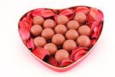 Chocolates para san valentín san — Foto de Stock