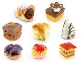 Chocolate and cream delight — Stock Photo