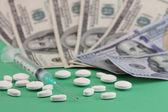 Healt care cost — Stock Photo