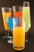 Refreshments of various colors — Stock Photo