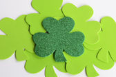 St. Patrick's Day Shamrocks — Stock Photo