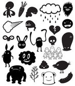 Cute Monster characters vol.1 — Stock Photo