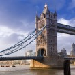Tower Bridge in London, uk — Stockfoto