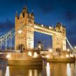Tower bridge, Londen, Verenigd Koninkrijk — Stockfoto
