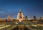 St Paul's Cathedral, London, UK — Stock Photo