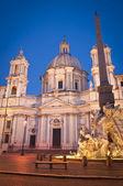 Piazza Navona, Rome, Italy — Stock Photo