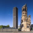 Kaiser-Wilhelm-Gedchtnis-Kirche, Berlin - Stock Photo
