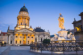Franzosischer Dom, Gendarmenmarkt, Berlin, Germany — Stock Photo