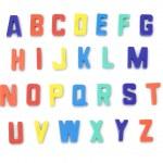 Постер, плакат: Toy alphabet letters