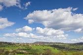 Idyllic rural farmland, Cotswolds UK — Stock Photo