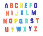 Toy alphabet letters — Stock Photo
