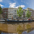 Amsterdam reflections, Holland — Stock Photo #26067669