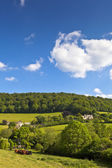 Idyllic rural farmland, Cotswolds UK — Stock Photo