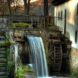 Fall mill — Stock Photo