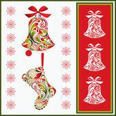 Christmas set. — Wektor stockowy