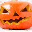 Halloween pumpkin Jack O'Lantern. — Stock Photo