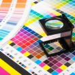 Royalty-Free Stock Photo: Color management in print production