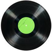 Vinyl disc isolated on white background — Stock Photo