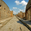 Stock Photo: Roadway in Pompeii