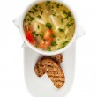 Bowl of vegetable Soup — Stock Photo #21700955