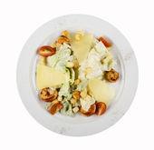 Caesar Salad with Seafood. — Stock Photo