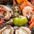 A seafood mix — Stock Photo